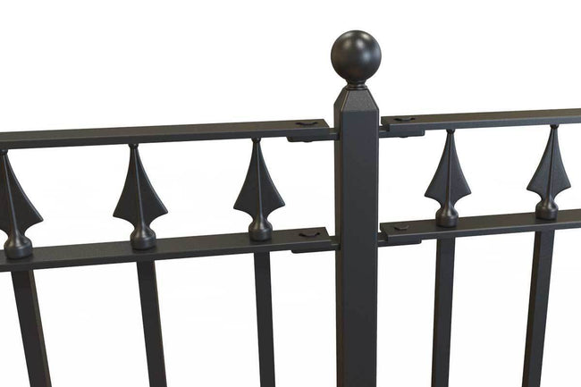 Railings - Nottingham - Style 31B - Wrought Iron Railing