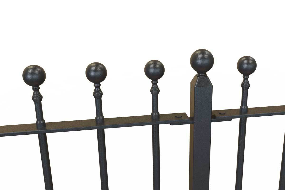 Railings - Putney Hopwell - Style 14A - Wrought Iron Ball Rail Head Railing