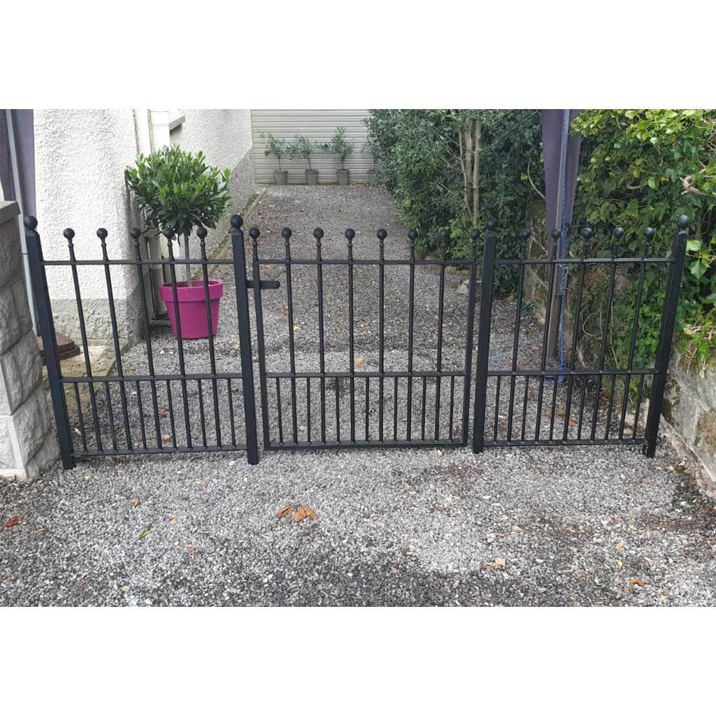 Railings - Putney Hopwell - Style 14A - Wrought Iron Railings