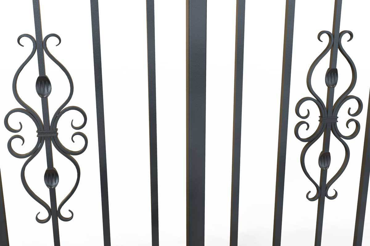 Railings - St Albans - Style 17A - Wrought Iron Railing