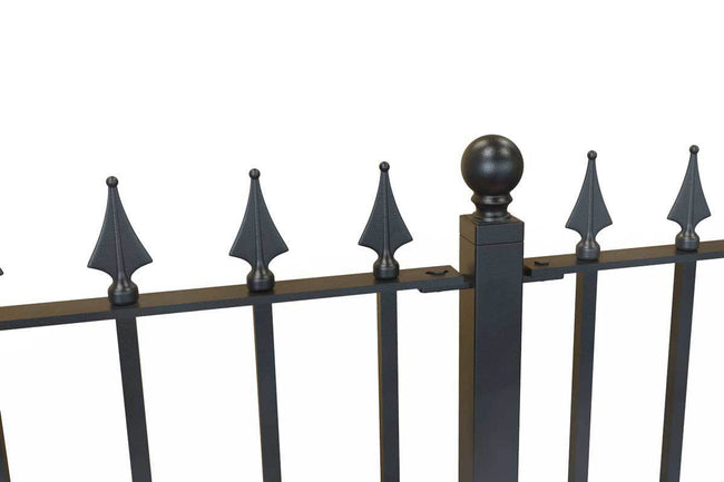 Tall Railings - Hampshire - Style 28B - Tall Iron Railing