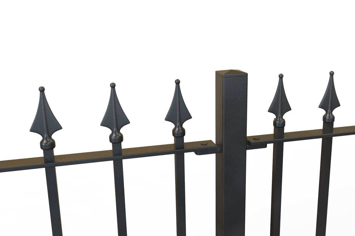 Tall Railings - Lambourn - Style 15 - Tall Iron Railing
