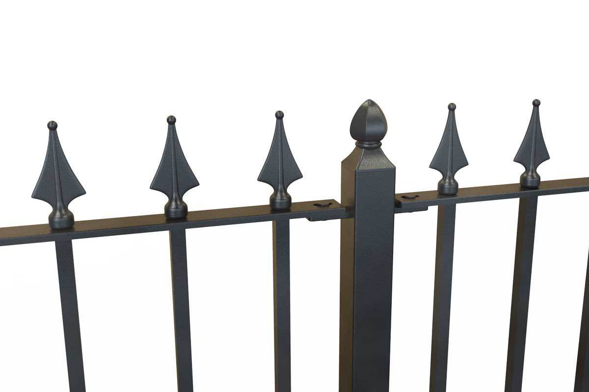 Tall Railings - Nottingham - Style 31C - Tall Iron Railing