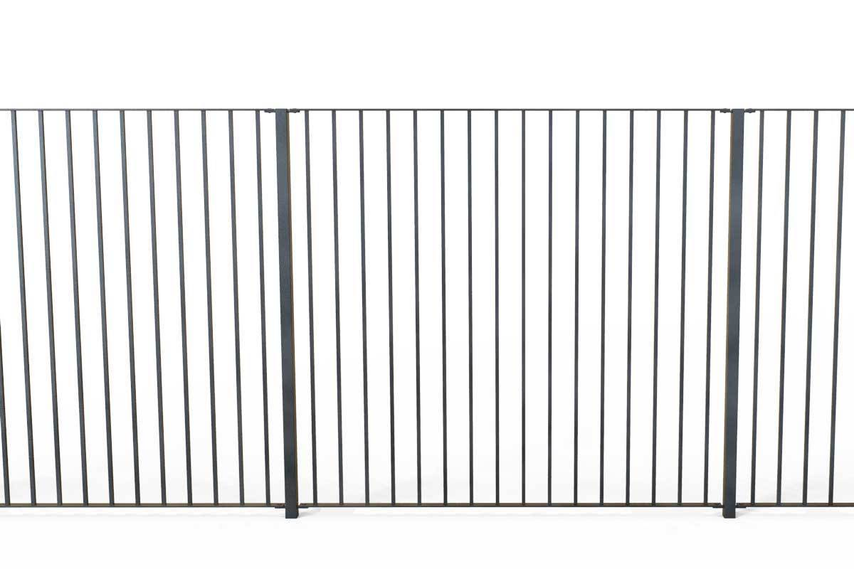 Tall Railings - Sandhurst - Style 30B - Tall Iron Railing