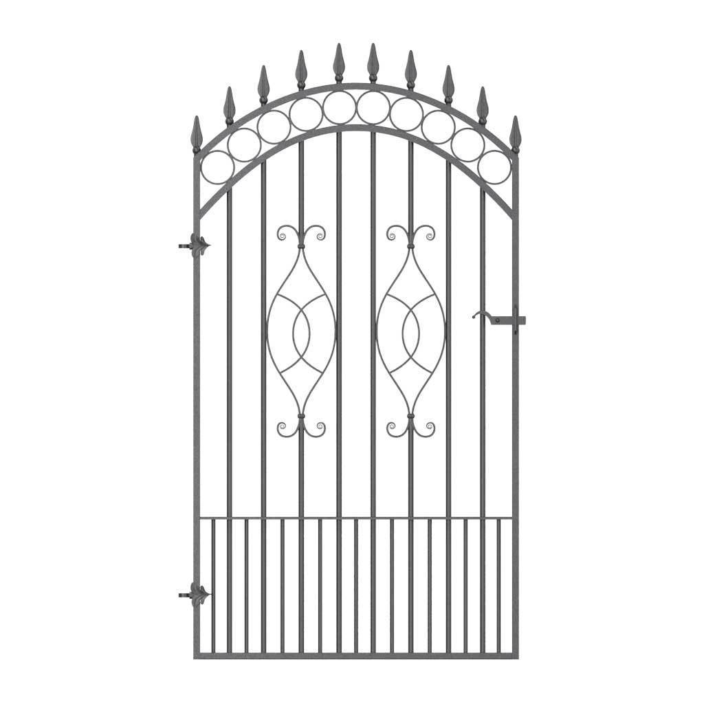 Wall Top Railings - Clifton - Style 11A - Wall Railing - With Rail Heads