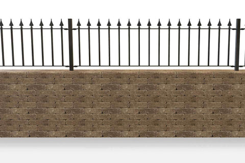 Clifton - Style 11B - Wall Railing - Without Rail Heads