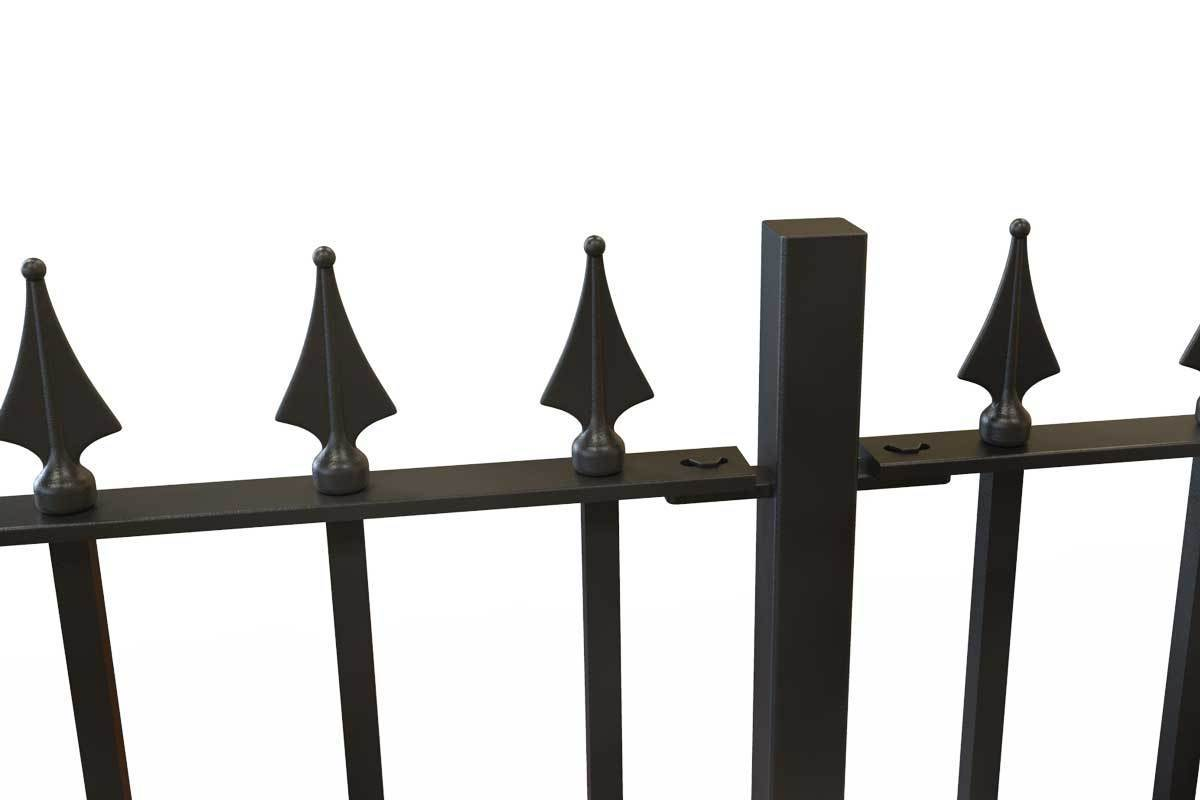 Wall Top Railings - Leicester - Style 29C - Wall Railing