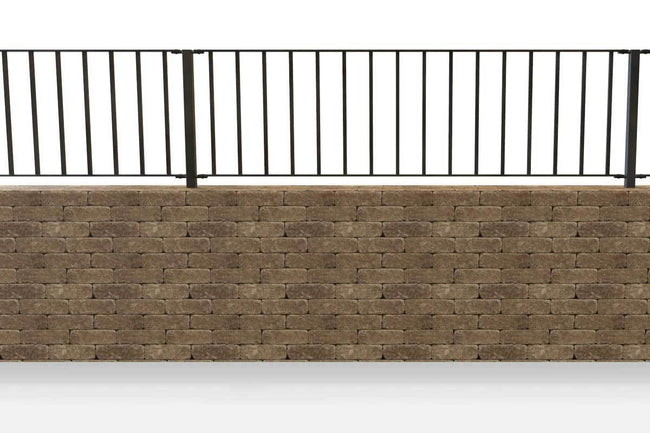 Wall Top Railings - Sandhurst - Style 30 - Wall Railing.