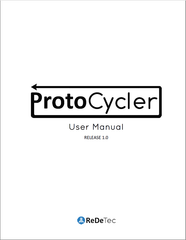 ProtoCycler user manual
