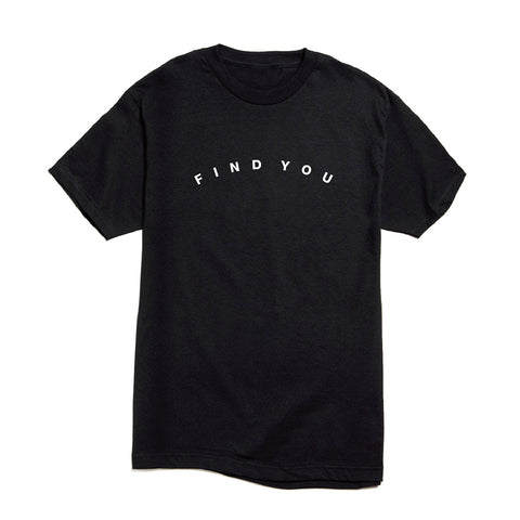 Find You T-shirt (Black) + Digital Single