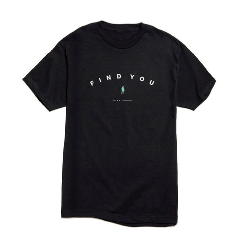 Find You Classic T-shirt (Black) + Digital Single