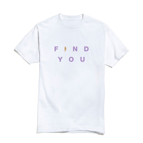 Find You Bold T-shirt (White) + Digital Single