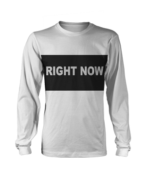 Right Now Longsleeve (Grey) + Digital Single