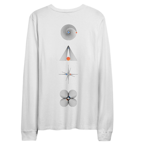 Spaceman Limited Edition White Longsleeve