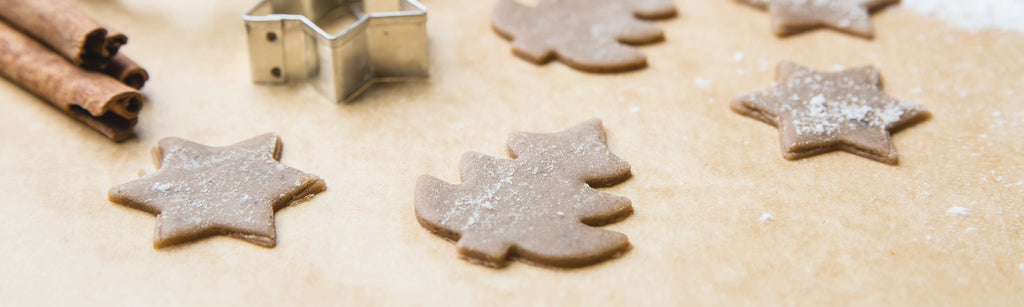 Ginger and Currant Christmas Biscuits