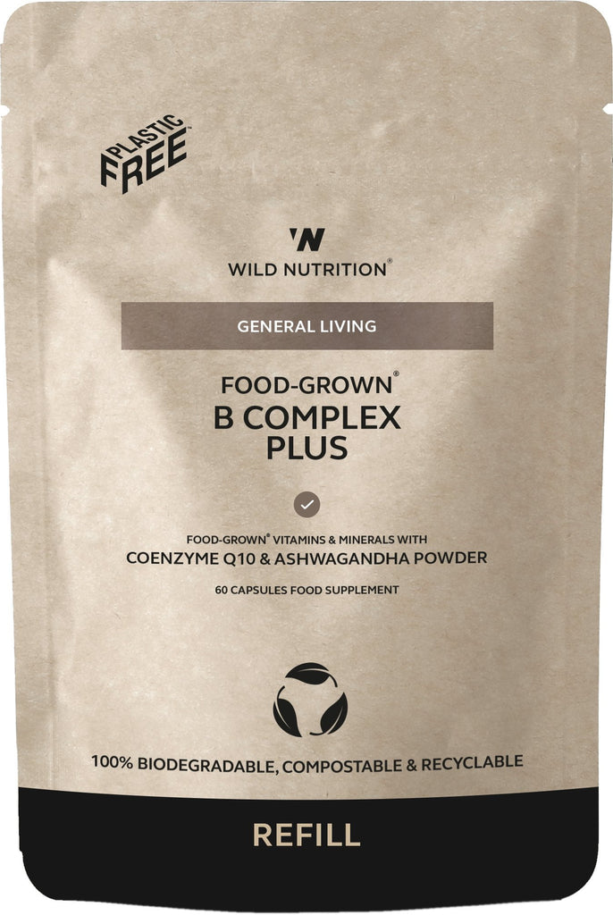 Food-Grown B Complex Plus Refill Pouch