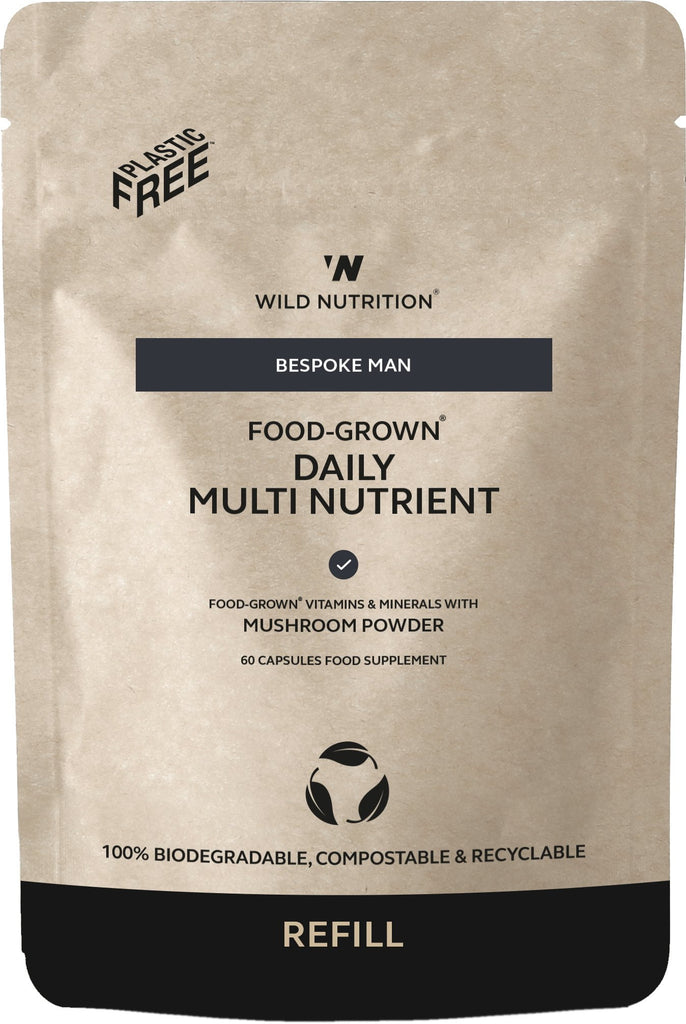 Men's Food-Grown Daily Multi Nutrient Refill Pouch