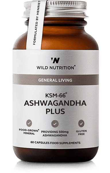 Food-Grown KSM-66 Ashwagandha Plus