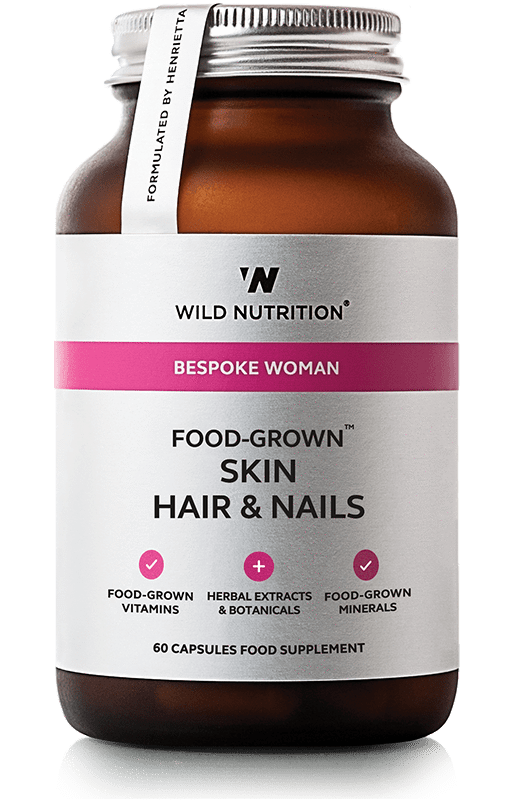 Food-Grown Skin Hair & Nails