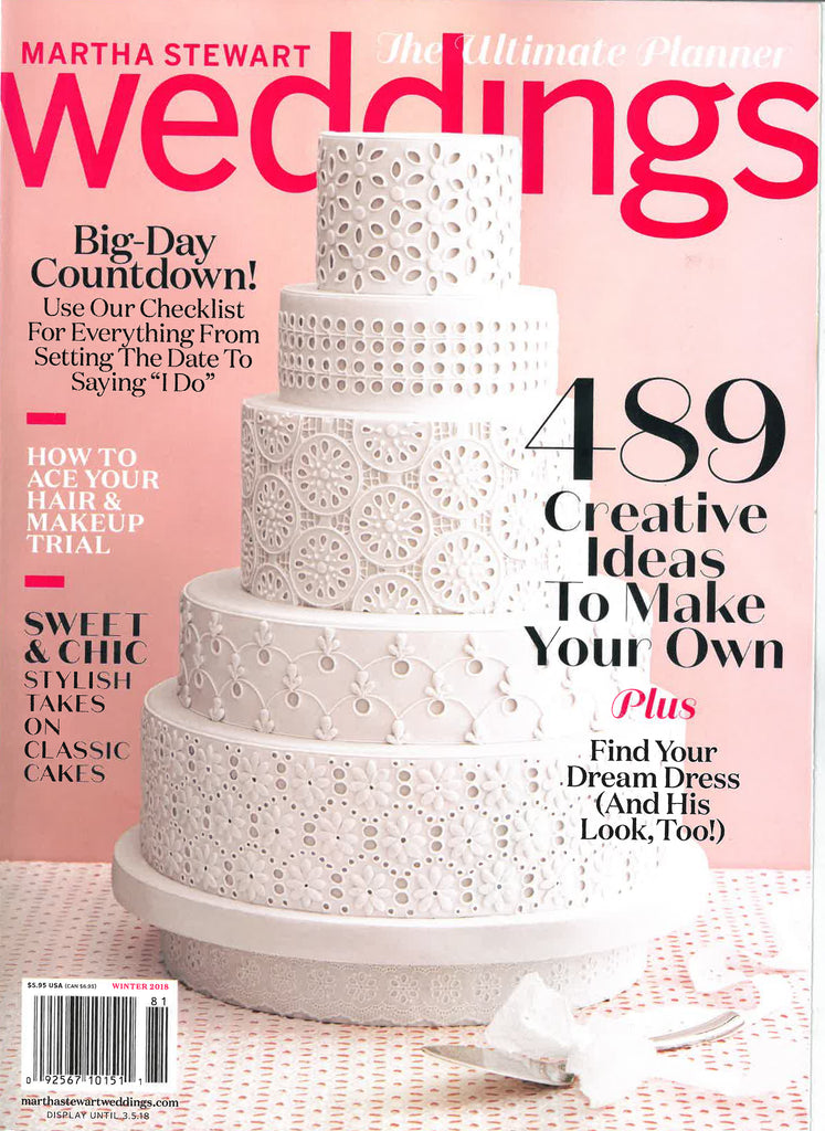 Martha Stewart Weddings - Winter 2018