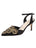 Womens Black Satin Emmie Pointed Toe Pump Alternate View
