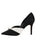 Womens Black/White Selah Pointed Toe Pump 7