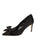 Womens Black Elaina Bow Pump Alternate View