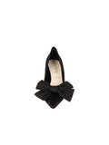 Womens Black Elaina Bow Pump 4