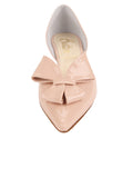 Womens Blush Patent Cliff d'Orsay Kitten Heel 4