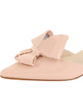 Womens Blush Patent Cliff d'Orsay Kitten Heel 6