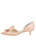Womens Blush Patent Cliff d'Orsay Kitten Heel 7