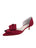 Womens Chianti Satin Cliff d'Orsay Kitten Heel Alternate View