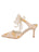 Womens Gold Romance Elvie Pointed Toe Pump 7