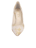 Womens Ivory Romance Stella Pointed Toe Pump 4