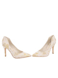 Womens Ivory Romance Stella Pointed Toe Pump 5
