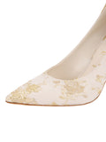 Womens Ivory Romance Stella Pointed Toe Pump 6