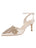 Womens Ivory Satin Emmie Pointed Toe Pump Alternate View