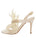 Womens Ivory Satin Hagan 7