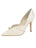 Womens Ivory Satin Selah Pointed Toe Pump Alternate View