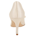 Womens Ivory Pointed Toe Pump 2
