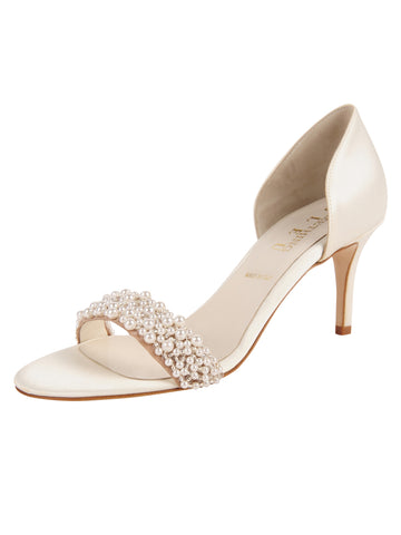 Womens Ivory d'Orsay Sandal Alternate View