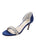 Womens Navy d'Orsay Sandal Alternate View