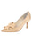 Womens Nude Satin Pointed Toe Pump Alternate View