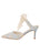 Womens Pearl Blue Romance Elvie Pointed Toe Pump 7