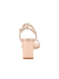 Womens Rose Gold Nappa Lux Grace Sandal 2