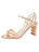 Womens Rose Gold Nappa Lux Grace Sandal Alternate View