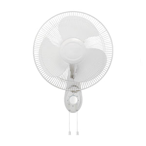 "16"" Wall Mounted Oscillating Fan 3 speed setting"