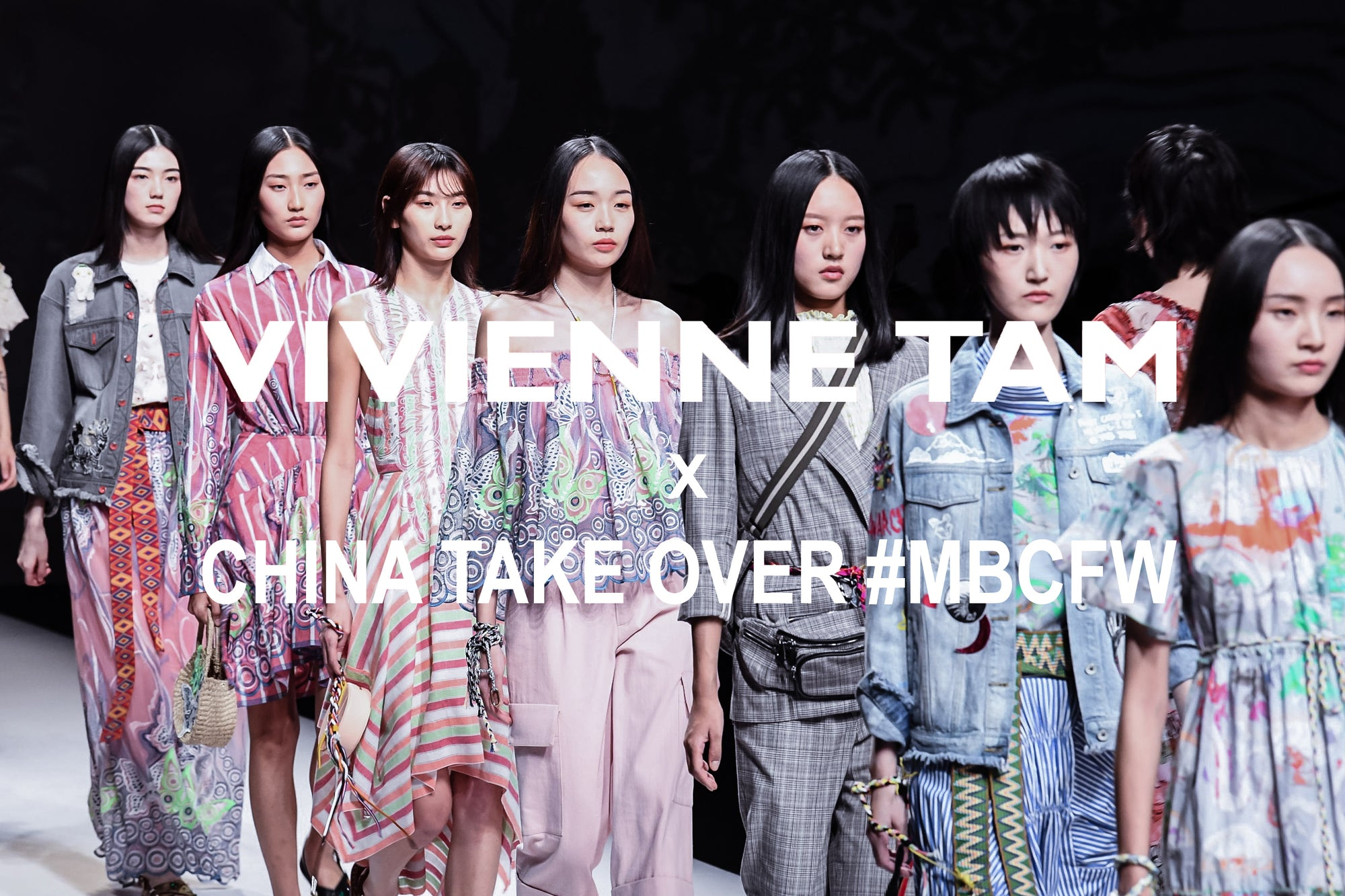 Vivienne Tam x China Take Over #MBCFW