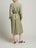 Womens Army Green Tencel Safari Jacket 2 Alternate View