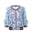 Womens Blue Multi Fantasyland Lace Cardigan